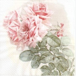 ***serwetka 33x33 V5 róża