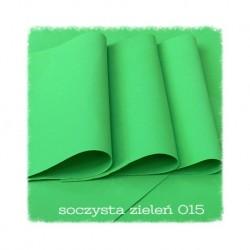 ***foamiran ciepły 30*35 cm soczysta zieleń