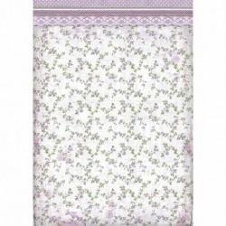 stamperia papier ryżowy A-3 DFSA3026 tło kwiatuszk