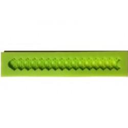 ***odlewy silikonowe sznur zdobny 19,5*3 cm