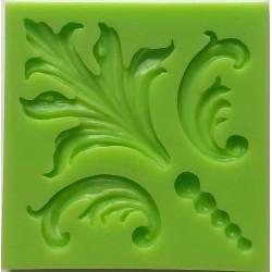 ***odlewy silikonowe 4-ornament  7,2*7,2cm