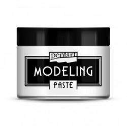 **pentart pasta modeling biała 3D gęsta