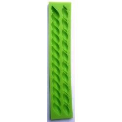***odlewy silikonowe sznur gruby 23,2x4,4x1,1cm