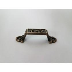 sz. metal uchwyt 4*1,2cm op 2szt