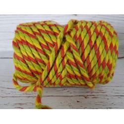 ***sznurek jutowy kolor gr.0,5 cm 7 m