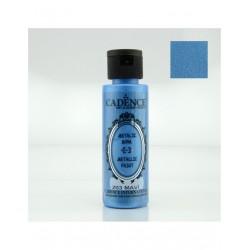 ***cadence farba metaliczna niebieski (203) 70 ml
