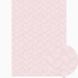 ***papier cienki A-3 3231 tło koronka pudrowy róż