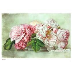 ***papier cienki A-5 1626 kwiaty