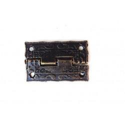 sz.metal zawias zdobny 3,6*2,2 cm  cena za 2 szt