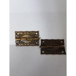 sz.metal zawias zdobny 2,5*3,2 cm cena za 2 szt.