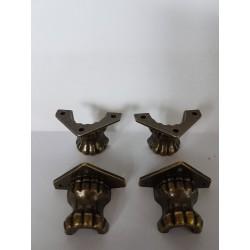 sz.mrtal nóżki dekorac.3,5*2,5 cm opk. 4 szt