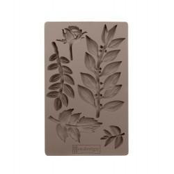 ***prima foremka silikonowa 20x13, leafy blossoms