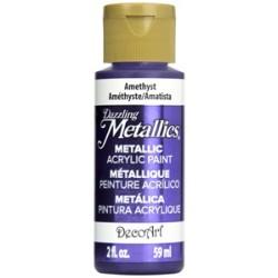 ***decoart farba metaliczna 59 ml DA321 ametyst