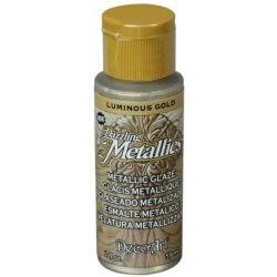 ***decoart farba metaliczna 59 ml DA249 srebrna sz