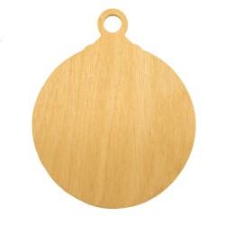 ***bombka drewniana 12 cm