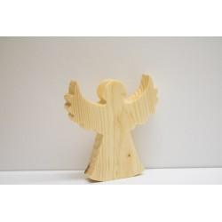 ***aniołek drewniany, 11x10x1,8 cm