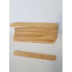 ***szpatuła drewniana płaska opk.20 szt