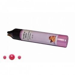 ***Daily art perełki w płynie ciemny róż 25 ml