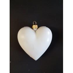 ***serce białe 8cm