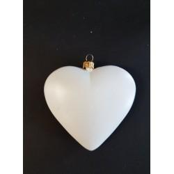 ***serce białe 11cm