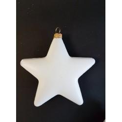 ***gwiazdka biała 11cm