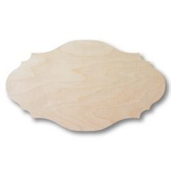 ***tabliczka ozdobna drewniana 5x2,8 cm