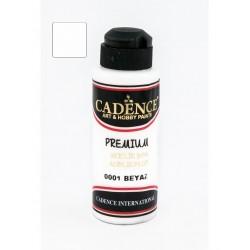 ***cadence farba premium 120 ml-0001 biała