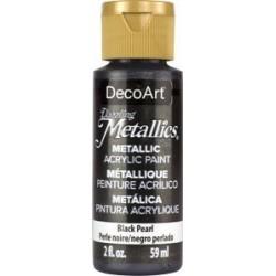***decoart farba metaliczna 59 ml DA127 czarna per