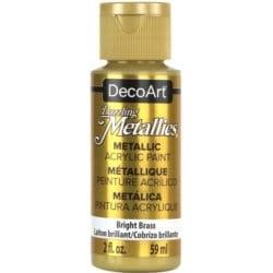 ***decoart farba metaliczna 59 ml DA338 jasny mosi