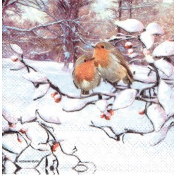 ***serwetka 25*25 BN 222 gile zimą