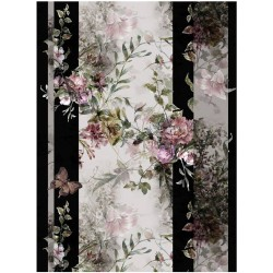 cadence papier ryżowy A-4 PR0599 kwiaty