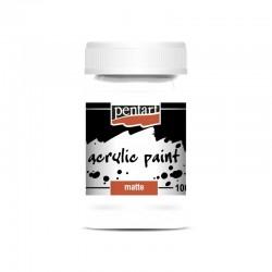 pentart farba akrylowa 100 ml tytanowa biel