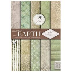 ***zestaw papierów scrap029 `ziemia`