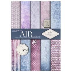 ***zestaw papierów scrap027 `powietrze`
