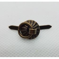sz.metal uchwyt metalowy 1,2cm*0,8 cm opk.10 szt