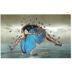 ***papier cienki A-5 4691 tańcząca ,motylki