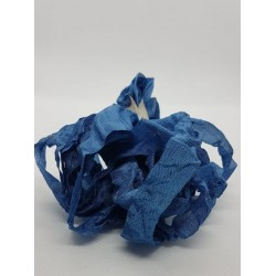 ***wstążka schabby chic vintage niebieski cena za