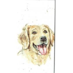 ***chusteczka 21x21 malowany pies CH6
