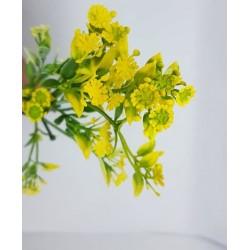 ***kwiatki mini żółte -gałązka