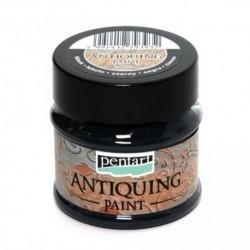 pentart farba antyczna czarna 50 ml