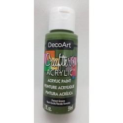 ***farba akrylowa decoart 59ml zielony las DCA39