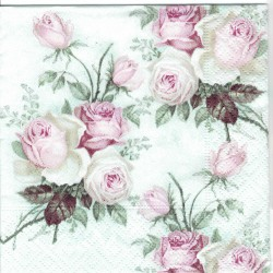 ***serwetka 25*25 V22 róże vintage