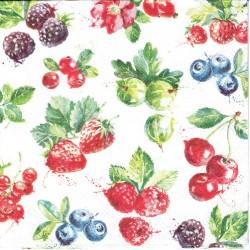 ***serwetka 33*33 K148 owoce