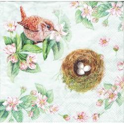 ***serwetka 33*33 K147 gniazdo,magnolia