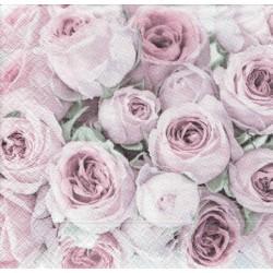 ***serwetka 33*33 V23 bukiet róż