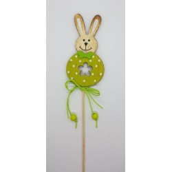 ***królik zielony na piku