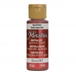 ***decoart farba metaliczna 59 ml DA074 królewski