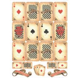 *** papier ryżowy A-4 kod.0143 Alicja karty